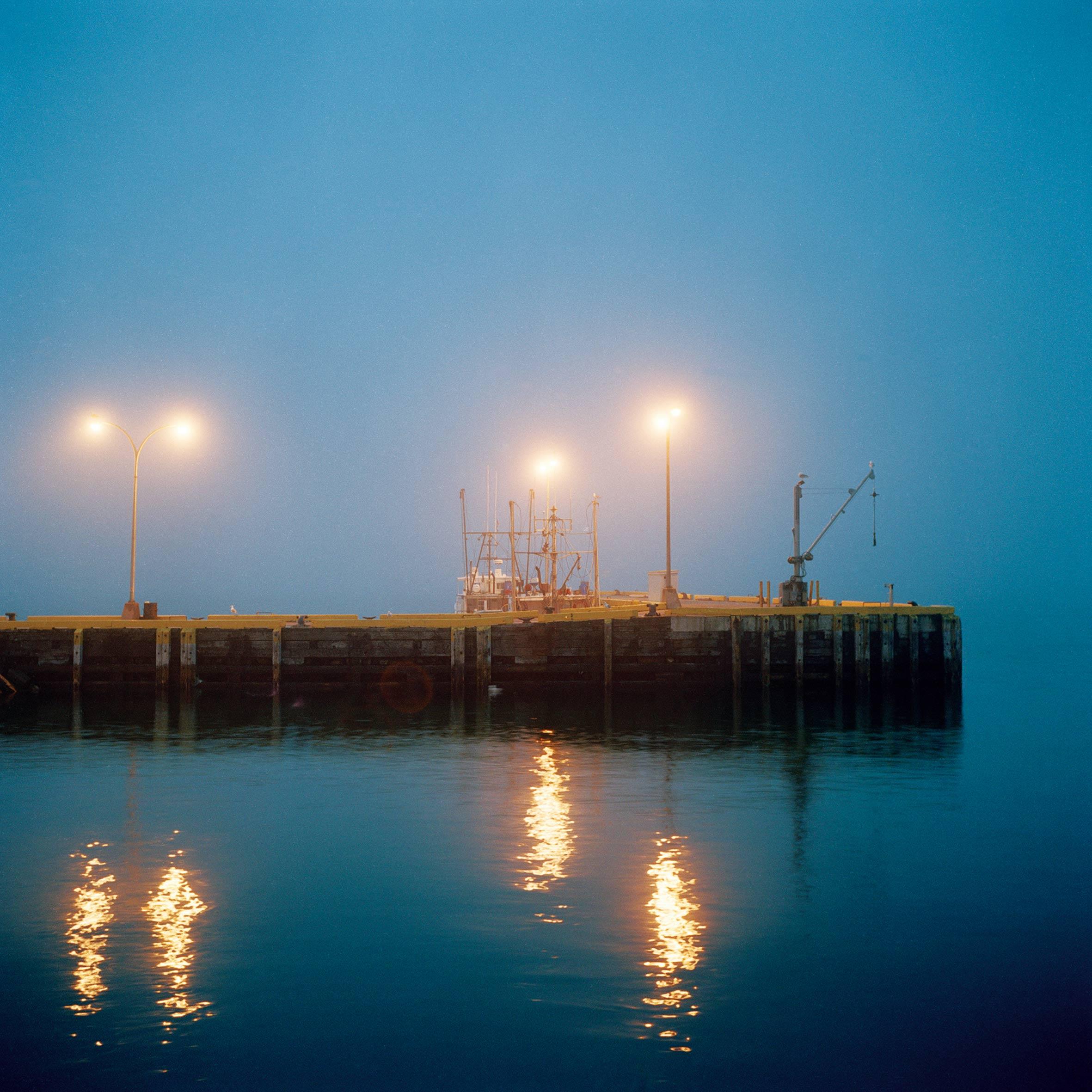 marcher créer, périple autobiographique, territoire du Labrador au Québec, paysage, nuit, port, mer, fleuve,