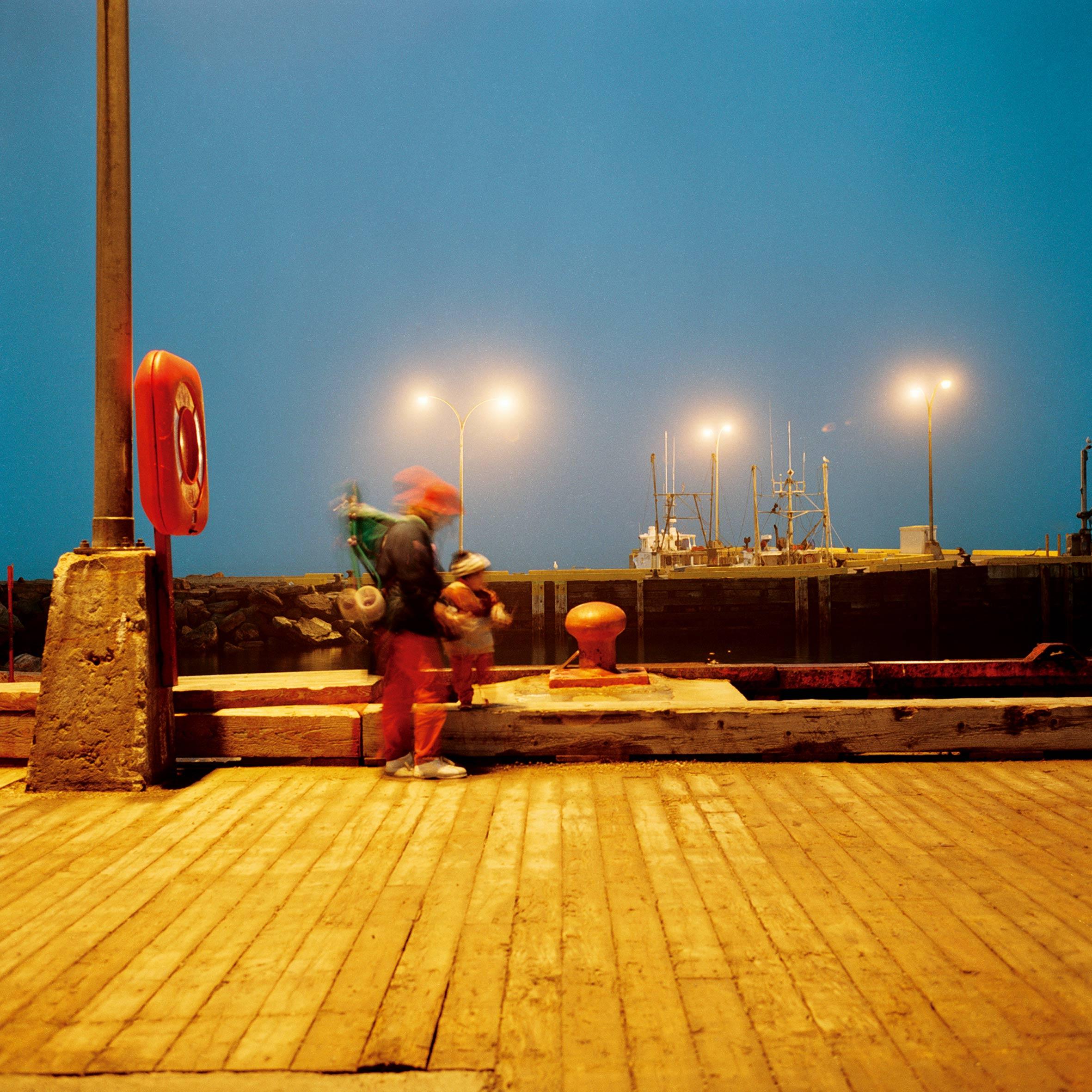 marcher créer, périple autobiographique, territoire du Labrador au Québec, paysage, nuit, port, mer, fleuve, portrait intime