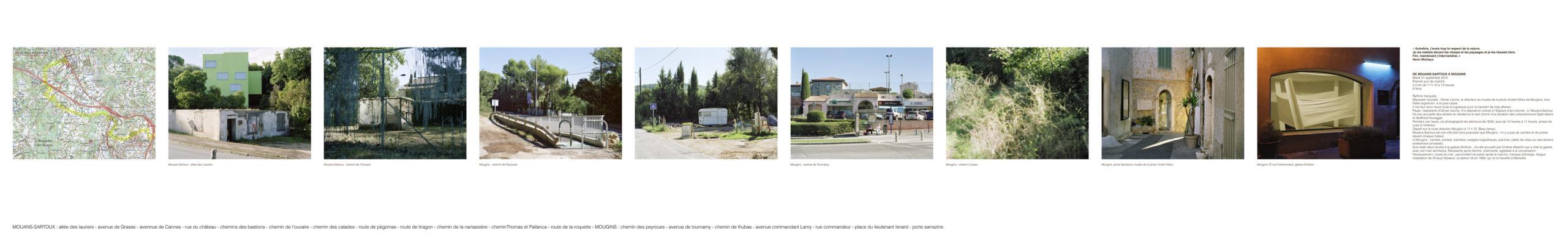 marcher créer, déambulation, marche urbaine, paysage urbain, paysage périurbain, paysage de la campagne, territoire de la Côte d'Azur,