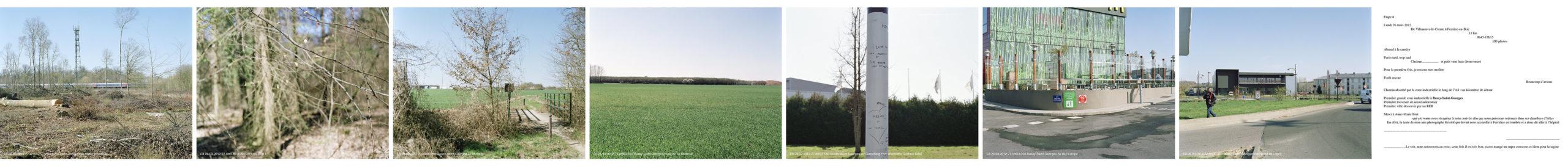 marcher/créer, déambuler, parcourir, photographier le paysage, photographier le territoire, paysage urbain, paysage périurbain, paysage de campagne, paysage architecturale, territoire de la région île-de-France, regard sur le Grand Paris, Villeneuve-le-Comte / Ferrière-en-Brie