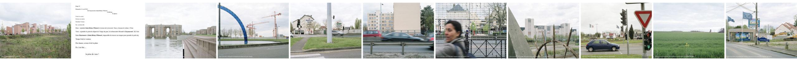 marcher/créer, déambuler, parcourir, photographier le paysage, photographier le territoire, paysage urbain, paysage périurbain, paysage de campagne, paysage architecturale, territoire de la région île-de-France, regard sur le Grand Paris,  Guyancourt / Saint-Rémy-l'Honoré